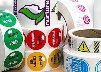 Etiquetas e adesivos personalizados